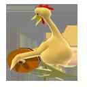 Pollo con polea para llevar
