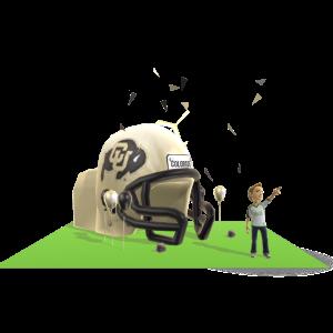 Colorado Inflatable Helmet
