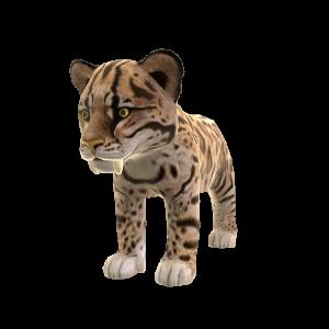 Tigre à dents de sabre (peluche)