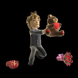 Valentine's - Endless Love Prop