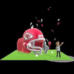 Chiefs Inflatable Helmet
