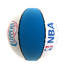Basketball von LA Clippers