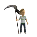Toy Legendary Scythe Idle - Black