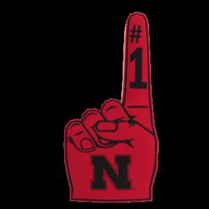 Nebraska Foam Finger