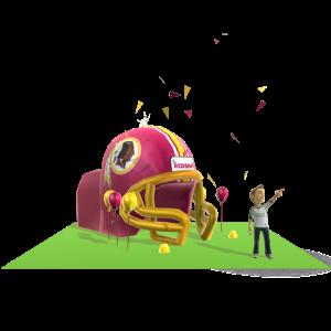 Redskins Inflatable Helmet