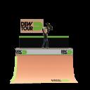 Dew Tour Half Pipe - Skate