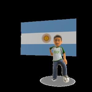 Argentina Soccer - World Wide