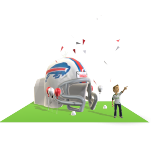 Bills Inflatable Helmet
