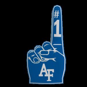 Air Force Foam Finger
