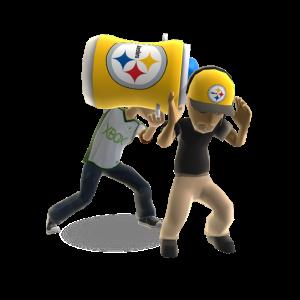 Steelers Winning Splash