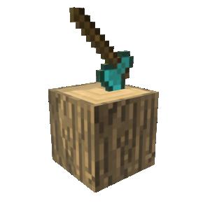 Minecraft Hache en diamant