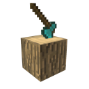 Minecraft Hacha de diamante