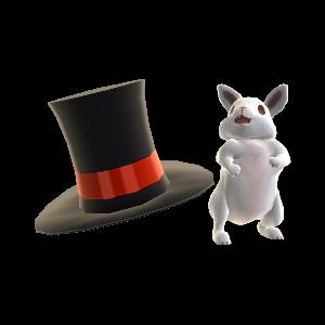 帽子 & ウサギ