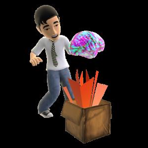 Rainbow Zombie Jelly Brain