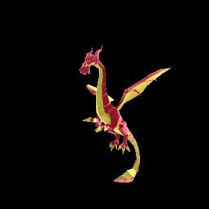 Bejeweled Dragon Pet