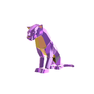 Bejeweled Panther Pet