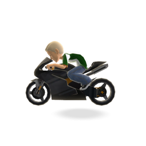 Motor Bike - Black Epic