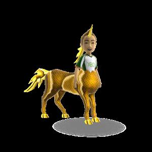 Unicorn Trot - Gold