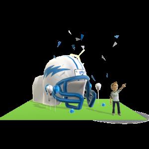 Air Force Inflatable Helmet