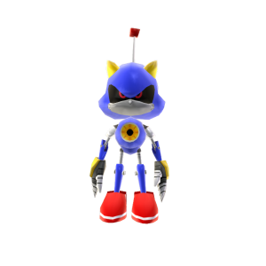 Sonic the Hedgehog 4 Episode II Metal Sonic Toy Avatar