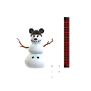 Crea un pupazzo di neve