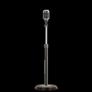 Micrófono cantante melódico
