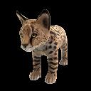Serval (Plüsch)