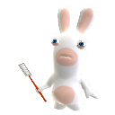 Mascota Rabbid Matamoscas - Volador