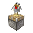 Minecraft Chicken & Piston