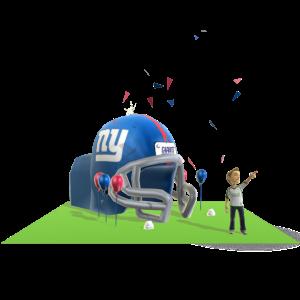 Giants Inflatable Helmet