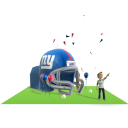 Giants Inflatable Helmet
