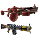 Armas de juguete dobles de Gunzerker