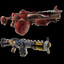 Dvojice gunzerkerských pistolek
