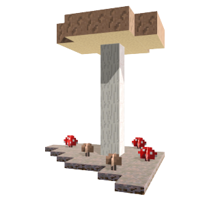 Minecraft Mushrooms