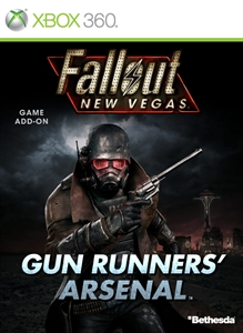Carátula del juego Fallout: New Vegas - Gun Runners Arsenal (English)