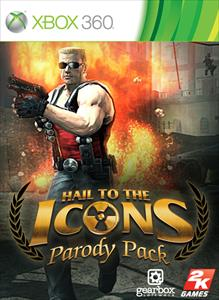 Carátula del juego Hail to the Icons Parody Pack