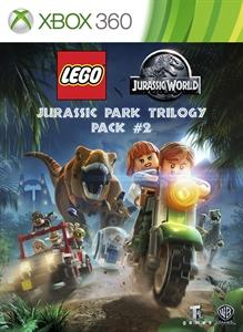 Carátula del juego LEGO Jurassic Park Trilogy Pack #2