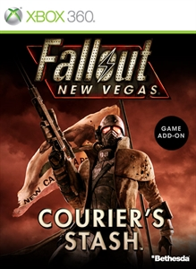 Carátula del juego Fallout: New Vegas - Courier's Stash (English)