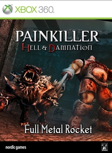 Carátula del juego Painkiller Hell & Damnation: Full Metal Rocket