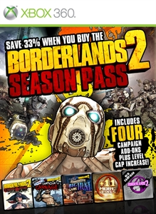 Carátula del juego Borderlands 2 Season Pass