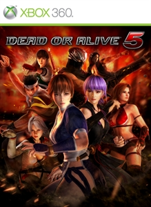 DEAD OR ALIVE 5 チアガールコスチューム かすみ