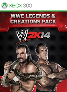 WWE Legends and Creation Pack