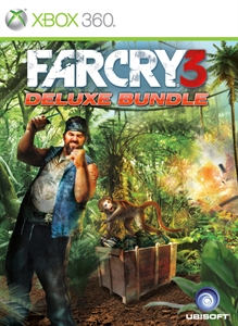 Carátula para el juego Far Cry 3: Deluxe Bundle DLC de Xbox 360