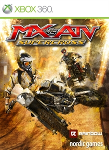 Carátula del juego MX VS ATV Supercross