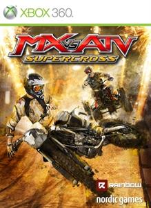 Carátula para el juego MX VS ATV Supercross de Xbox 360