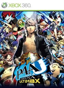 Carátula para el juego P4AU de Xbox 360