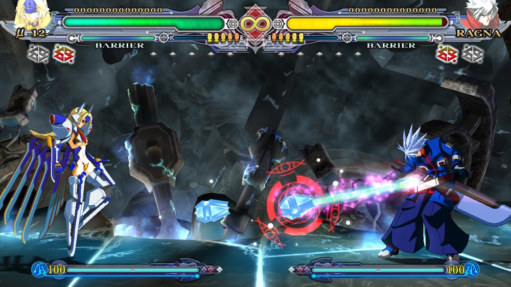 Image from BLAZBLUE CS