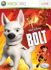 Carátula para el juego Disney Bolt de Xbox 360