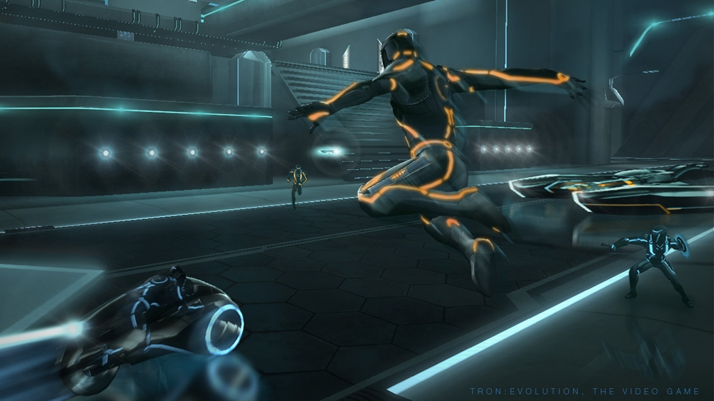 Image from Tron: Evolution