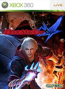 DMC4 on Xbox 360 Celebration Theme
